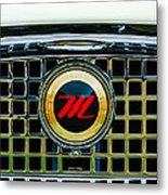 1959 Nash Metropolitan Grille Emblem Metal Print