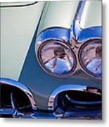 1960 Chevy Corvette Metal Print