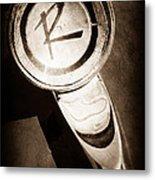 1961 American Rambler Hood Ornament Metal Print