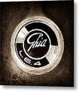 1962 Ghia L6.4 Coupe Emblem Metal Print