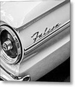 1963 Ford Falcon Futura Convertible Taillight Emblem Metal Print