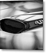 1966 Pontiac Gto Hood Emblem Metal Print