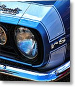 1967 Chevy Camaro Rs Metal Print