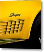 1971 Chevrolet Corvette Stingray Metal Print