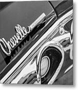 1972 Chevrolet Chevelle Taillight Emblem Metal Print