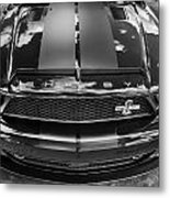 2008 Ford Shelby Mustang Gt500 Kr Painted Bw  Metal Print