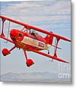 A Pitts Special S-2a Aerobatic Biplane Metal Print
