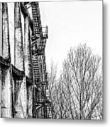 Abandoned Sugarmill Metal Print