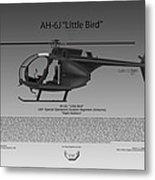 Ah-6j Little Bird Metal Print