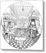 Alchemist Metal Print