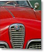 Alfa Romeo Grille Emblem Metal Print