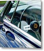 Alfa Romeo Steering Wheel Metal Print