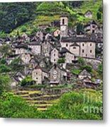 Alpine Village Metal Print