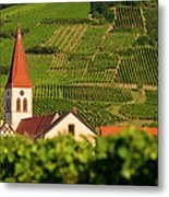 Alsace Church Metal Print