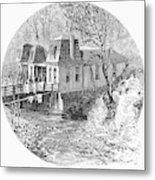 Arkansas Hot Springs, 1878 Metal Print by Granger