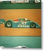 Automobile Racing Metal Print