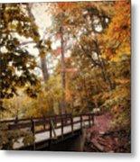 Autumn Awaits Metal Print