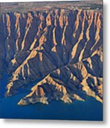 Bad Lands Metal Print