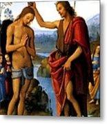 Baptism Metal Print