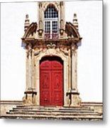 Baroque Portal Metal Print