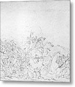 Battle Of Princeton, 1777 Metal Print