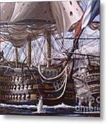 Battle Of Trafalgar Metal Print