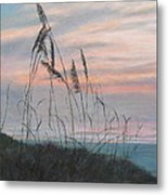 Beach Morning View Metal Print