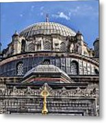 Beyazit Camii Mosque Metal Print