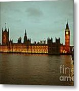 Big Ben And Houses Of Parliament Metal Print
