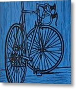 Bike 4 Metal Print