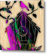 Bird House Metal Print