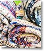 Blankets Metal Print