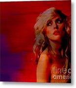 Blondie Debbie Harry Metal Print