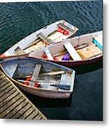 3 Boats Metal Print by Emmanuel Panagiotakis