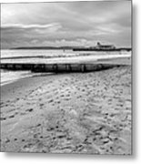 Bournemouth Beach Metal Print