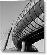 Bridges In The Sky Metal Print