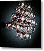Bulbs Of Light Metal Print