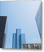 Business Skyscrapers. Metal Print