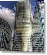 Canary Wharf Tower London Metal Print