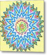 Colorful Signature Art Chakra Round Mandala By Navinjoshi At Fineartamerica.com Rare Fineart Images  Metal Print