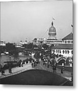 Chicago Worlds Columbian Exposition 1893 Metal Print