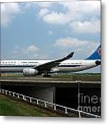 China Southern Airlines Airbus A330 Metal Print