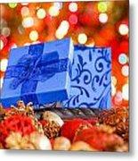 Christmas Box Metal Print