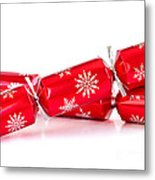 Christmas Crackers Metal Print