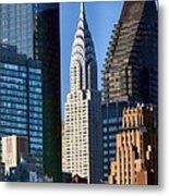 Chrysler Building Metal Print