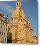 Church Of Our Lady  -  Dresden - Germany Metal Print