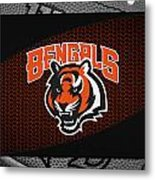 Cincinnati Bengals Metal Print by Joe Hamilton