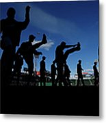 Cincinnati Reds V Boston Red Sox Metal Print