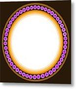 Circle Motif 139 Metal Print