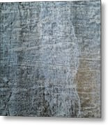 Close-up Of A Metal Wall Surface Metal Print